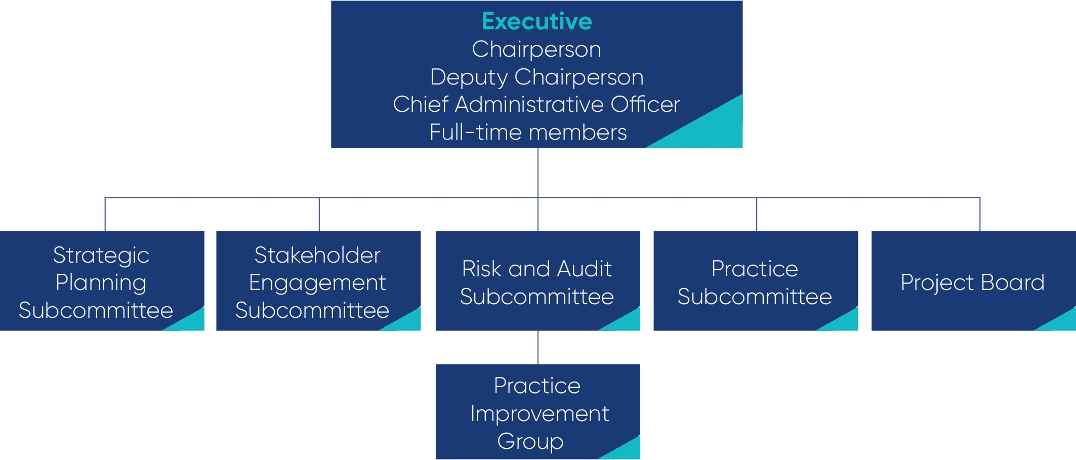 This is the Board's governance structure.